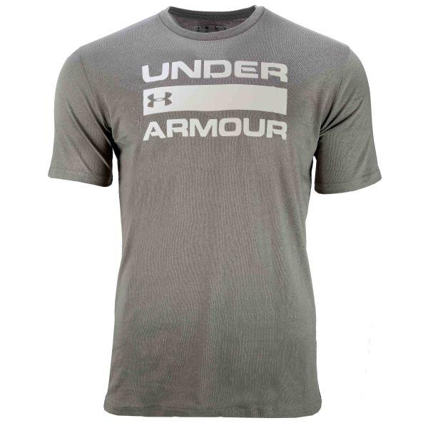Maglietta Under Armour Team Issue Wordmark SS gravity green