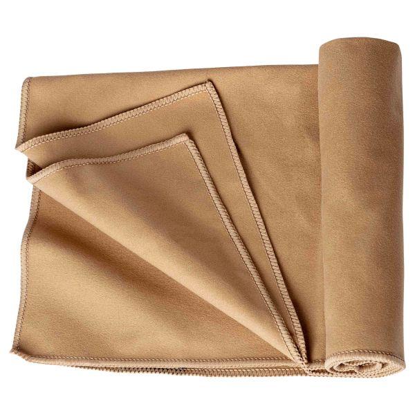 Asciugamano in microfibra TOE Concept Camp 40 x 80 cm kaki