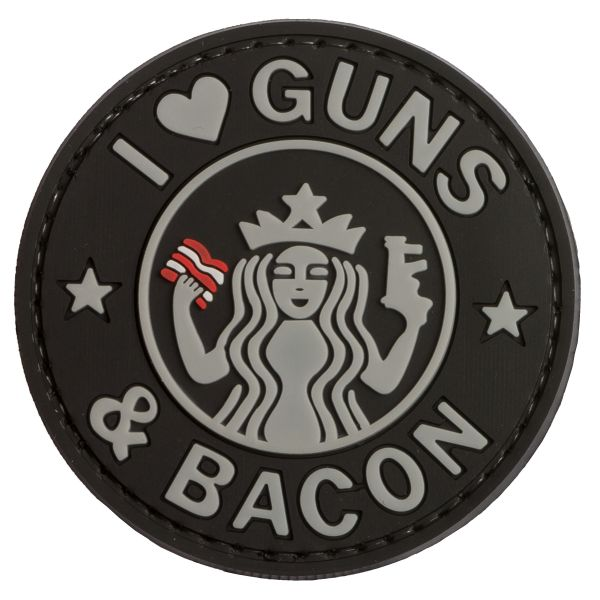 Patch 3D TAP Guns and Bacon, swat