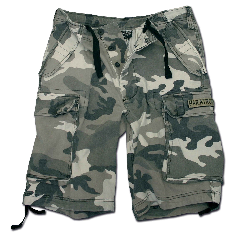 Pantaloncini paracadutista Mil-Tec washed urban