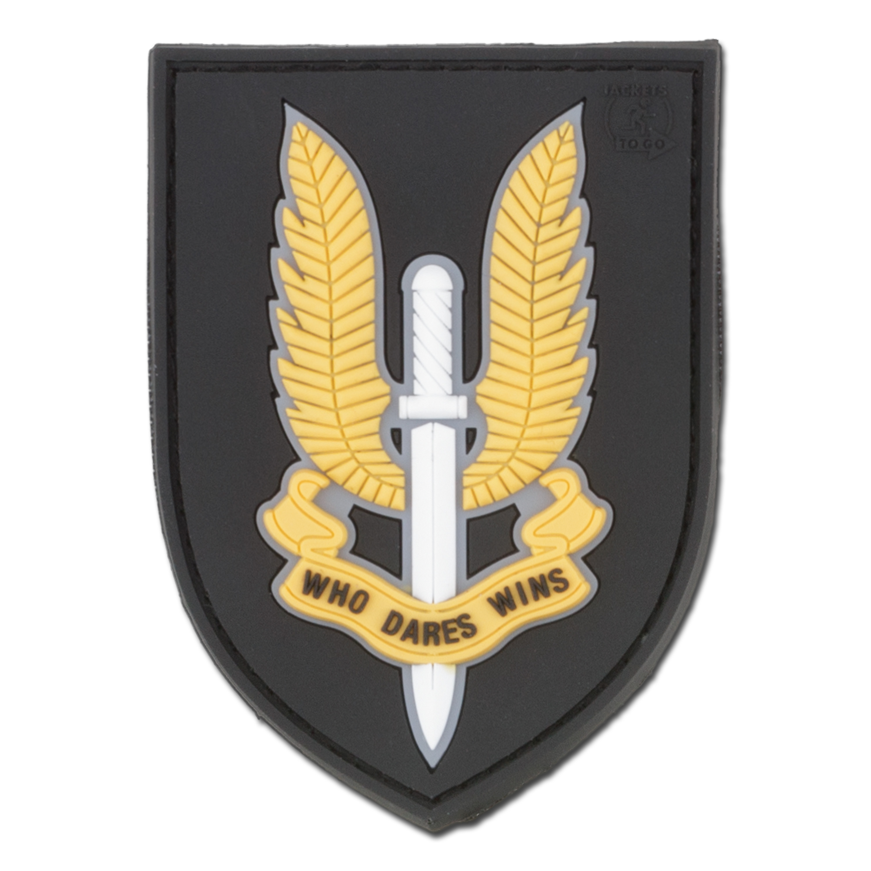 3D-Patch who dares wins SAS fullcolor