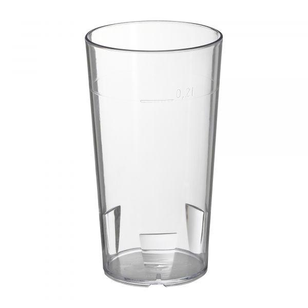 Bicchiere in policarbonato 200 ml