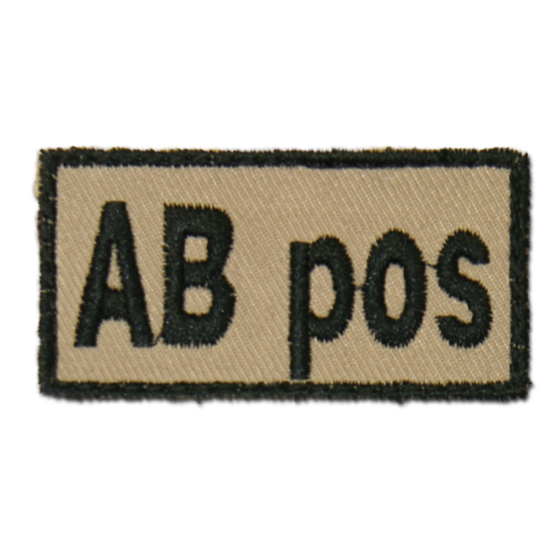Bloodpatch AB pos khaki