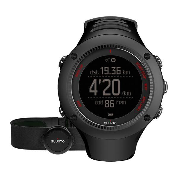 Orologio Arambit 3 Run black HR, marca Suunto