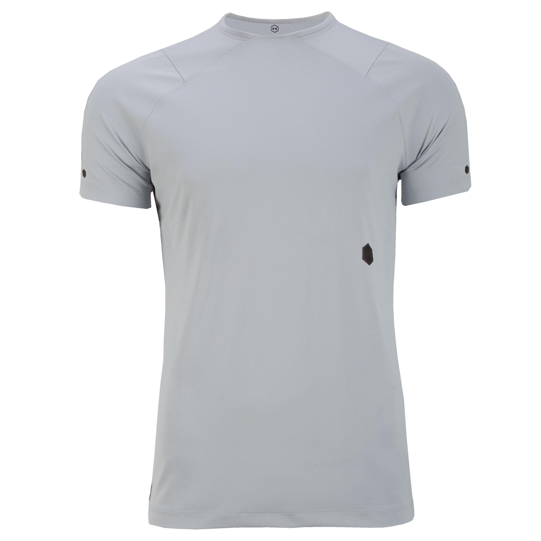 T-Shirt Rush SS marca Under Armour grigio