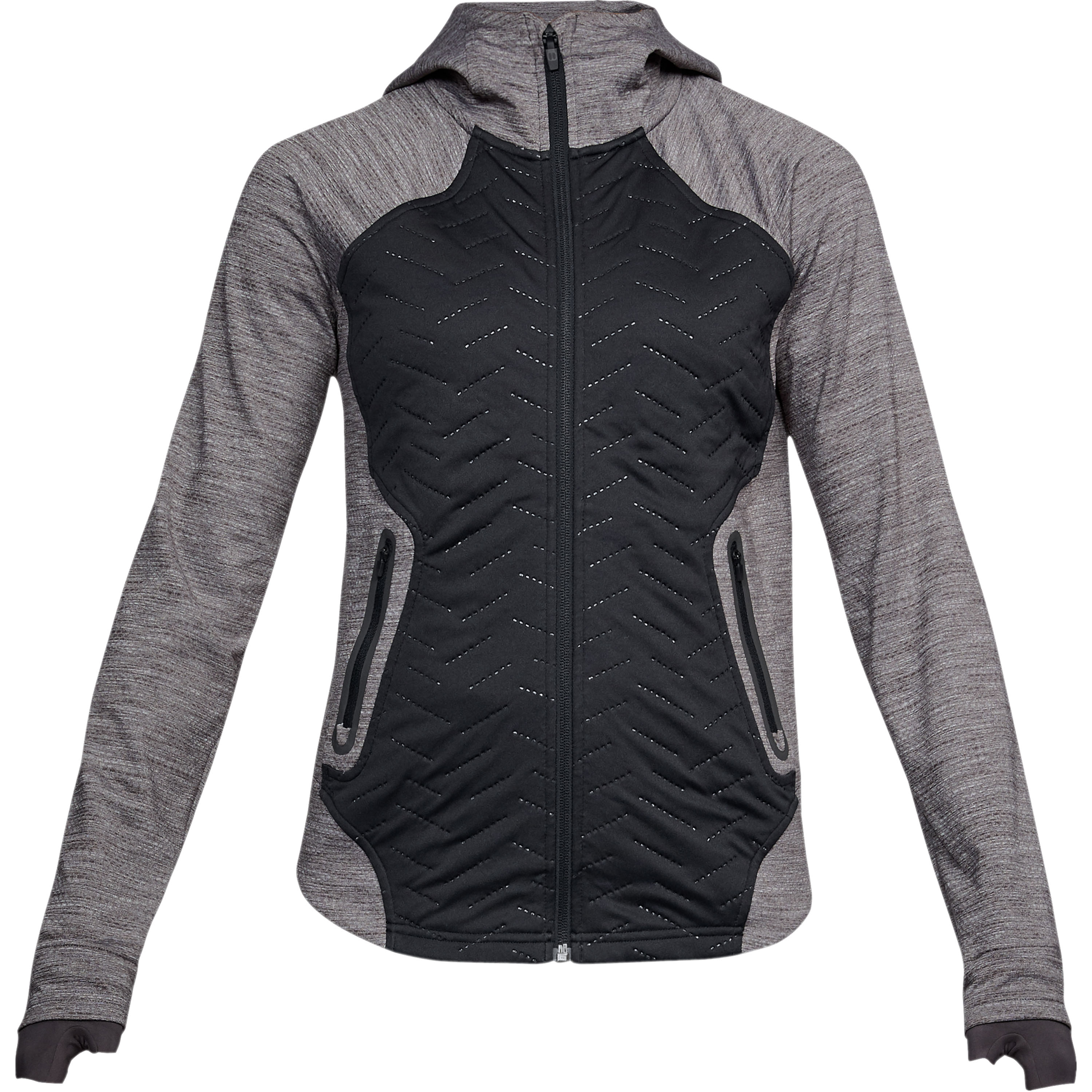 Giacca da donna Reactor 3G full zip Under Armour nera