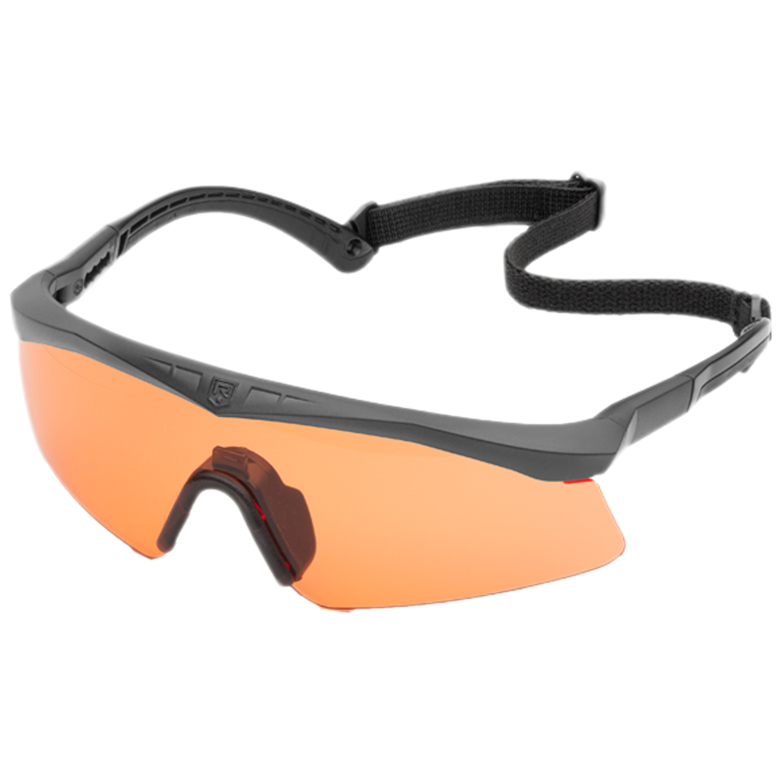 Kit occhiali balistici Revision Basic, Sawfly, lenti arancio