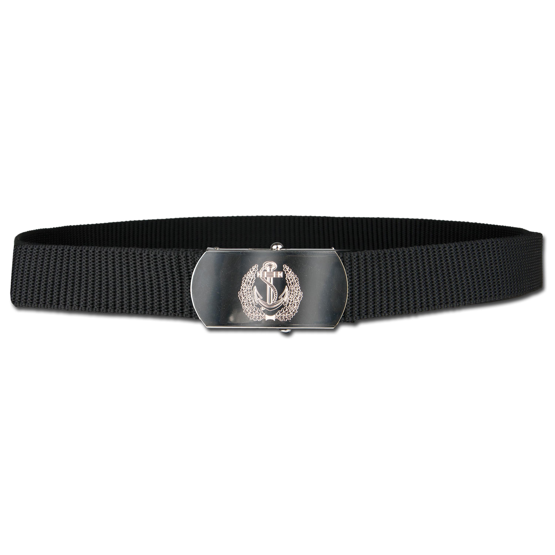 Cintura in nylon con fibbia in metallo Marina