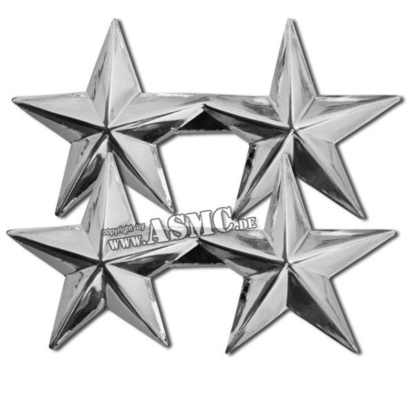 Distintivo di rango Generale maggiore US lucidato