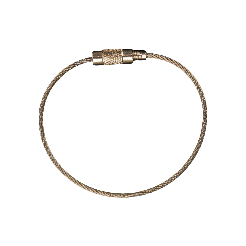 Cavo in metallo di fissaggio per Dog Tag 15 cm