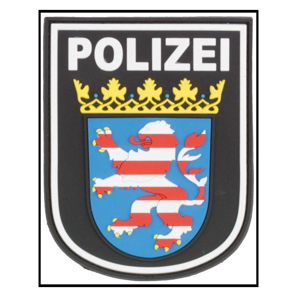 Patch 3D Polizia Hessen colore nero