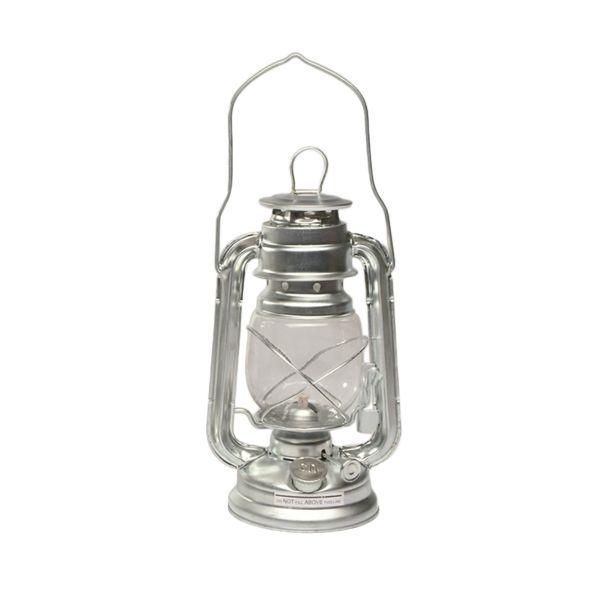 Lampada a petrolio in zinco 23 cm