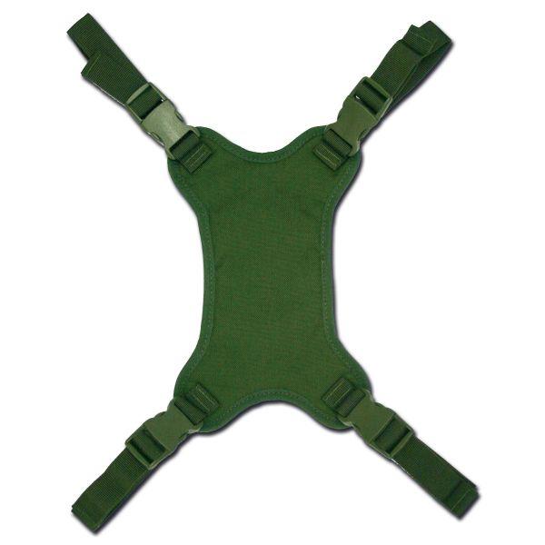 Attacco porta elmetto per zaino militare TacGear verde oliva