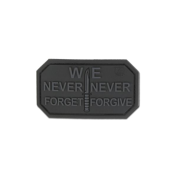 Patch 3D We Never Forget motivo blackops