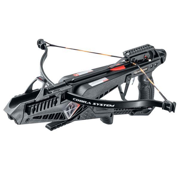 Balestra a pistola EK Archery X-Bow Cobra nera