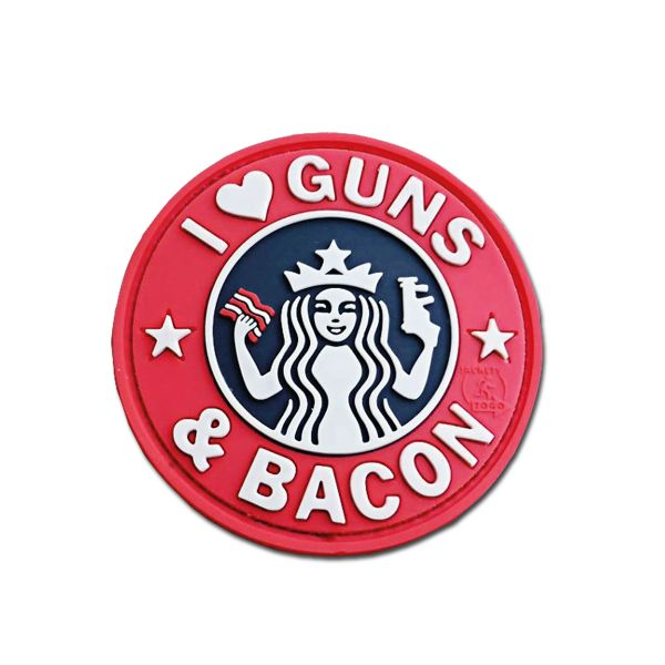 3D Patch JTG Guns and Bacon fullcolor