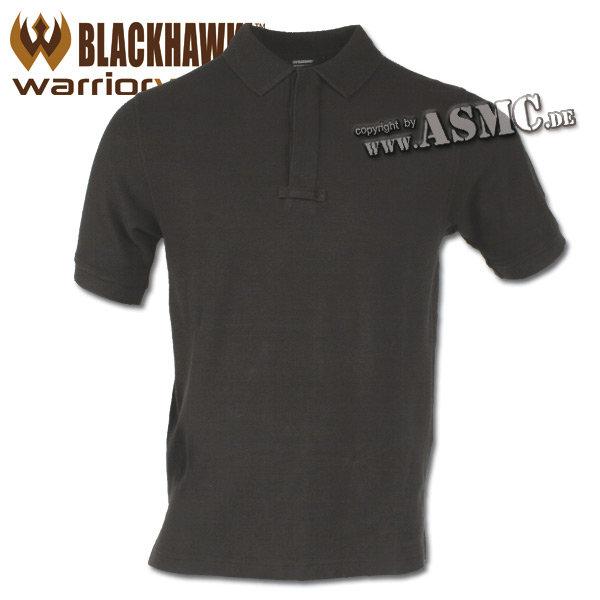 Blackhawk Cotton Polo Shirt black