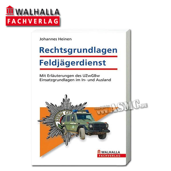 Book Rechtsgrundlagen Feldjägerdienst