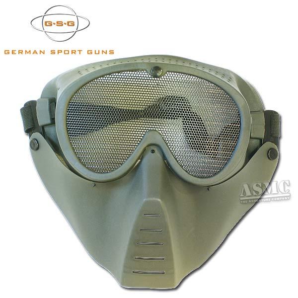 Maschera softair GSG oliva