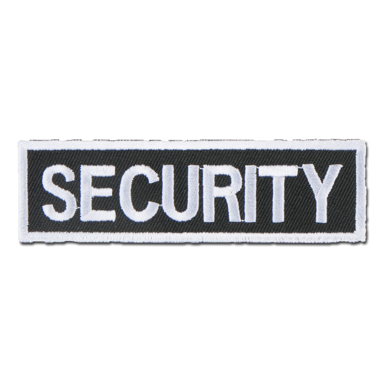Distintivo in tessuto Security piccolo