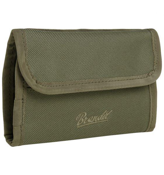 Portafogli Wallet Two marca Brandit verde oliva