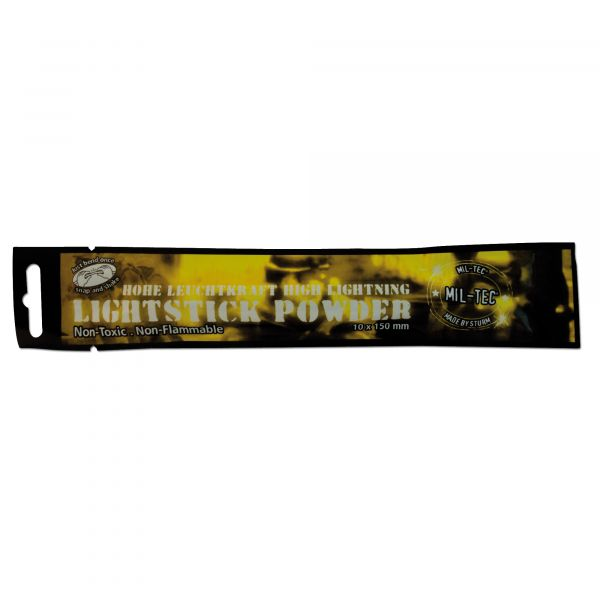 Stick luminoso Mil-Tec Powder 48 h giallo