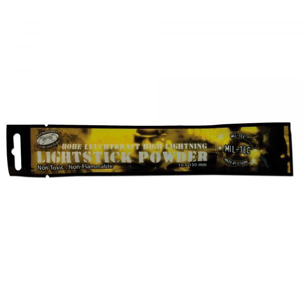 Stick luminoso Mil-Tec Powder 48 h giallo