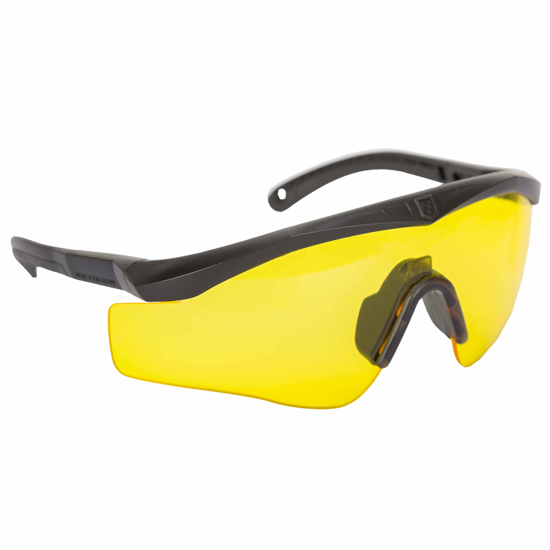 Kit occhiali Revision Max-Wrap Basic Sawfly, lente gialla