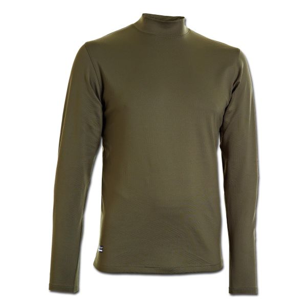 Maglia Under Armour Cold Gear Tactical Mock Fitted oliva