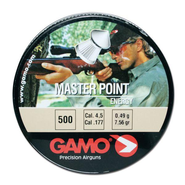 Diabolo marca Gamo Masterpoint 4,5 mm 500 pezzi