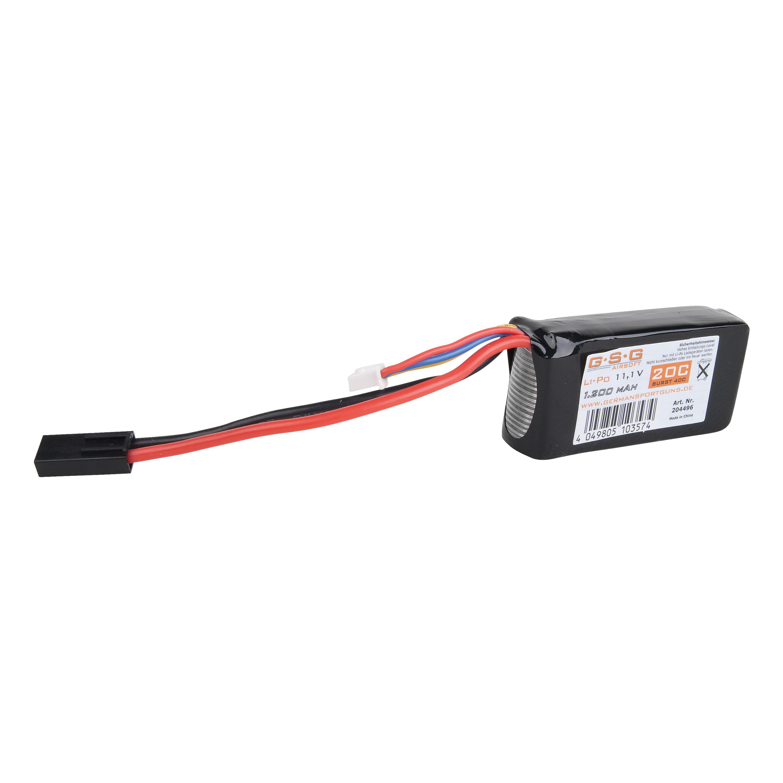 GSG Li-Po batteria 11.1V 1200 mAh piccolo tipo