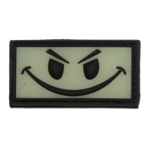 Patch 3D, Evil Smiley, riflettente