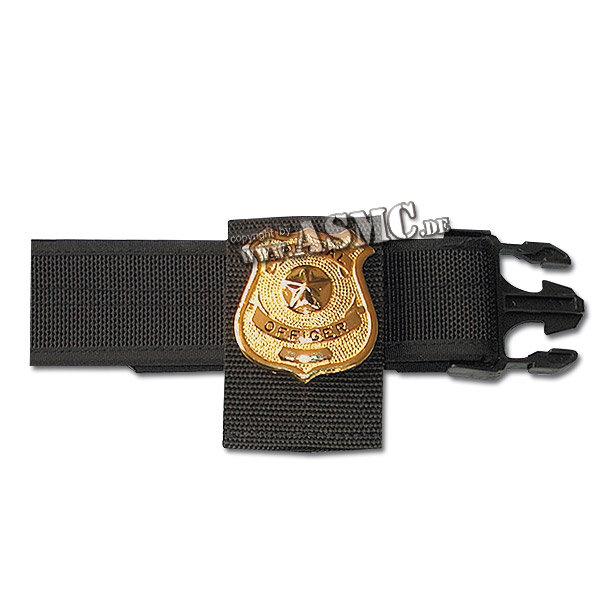 Supporto da cintura in nylon per distintivo