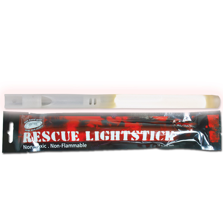 Lightstick Mil-Tec Rescue white