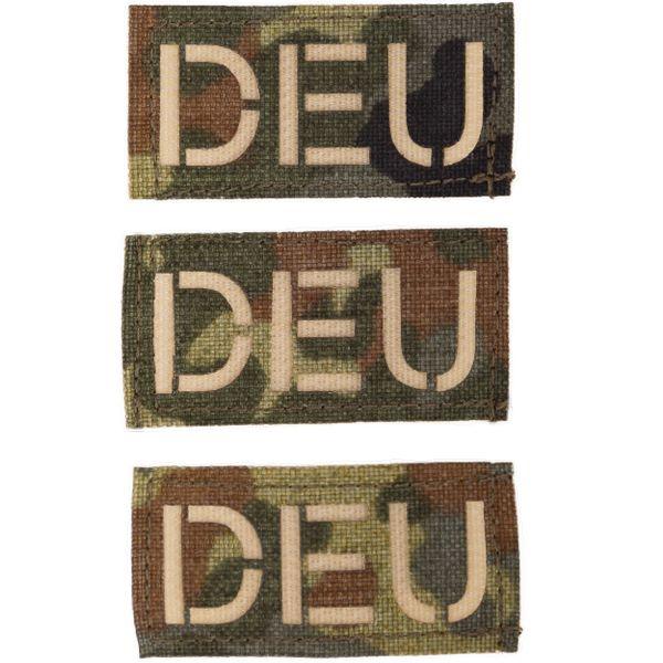 Patch in tessuto marca Zentauron DEU piccolo mimetico