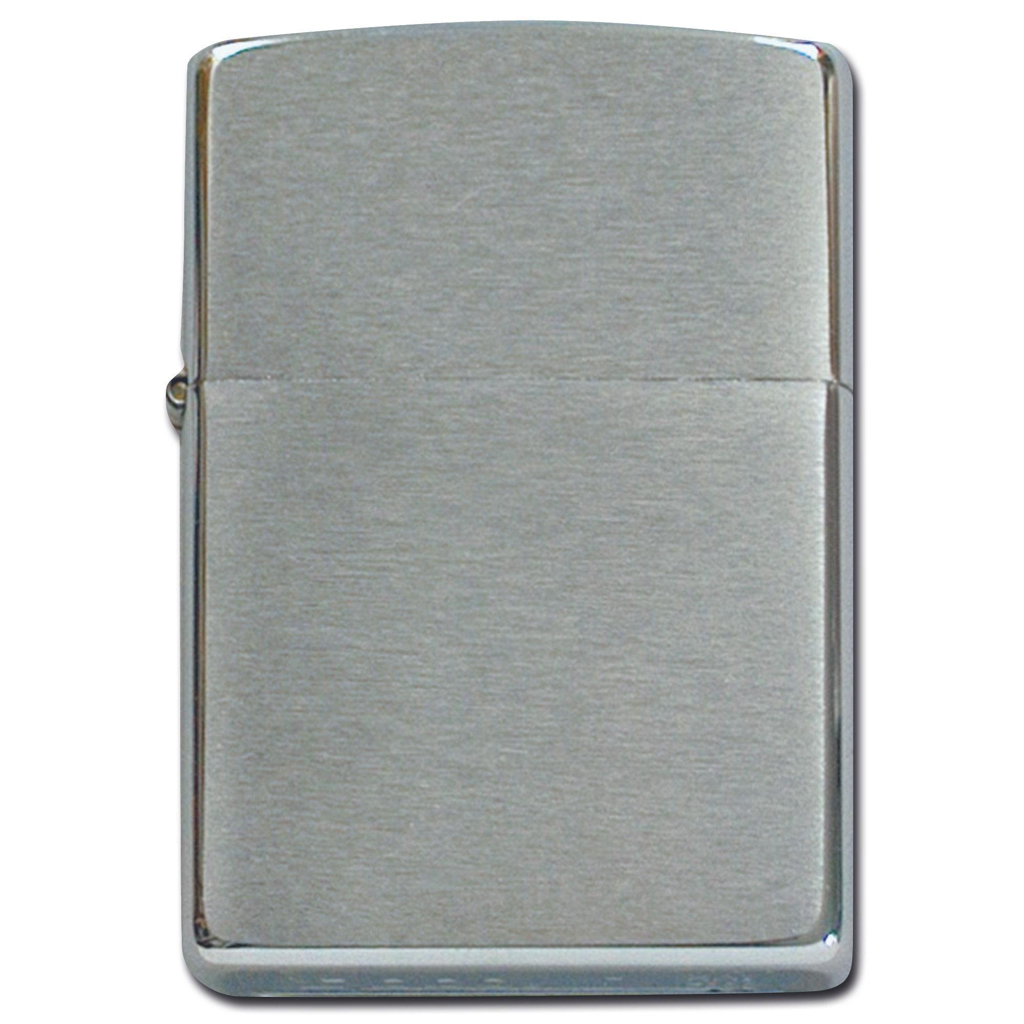 Accendino zippo in cromo spazzolato asmc avventura sicurezza militare campeggio - Normativa abbigliamento cucina ...