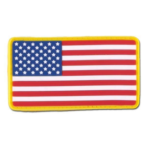 Patch 3D Bandiera US full color