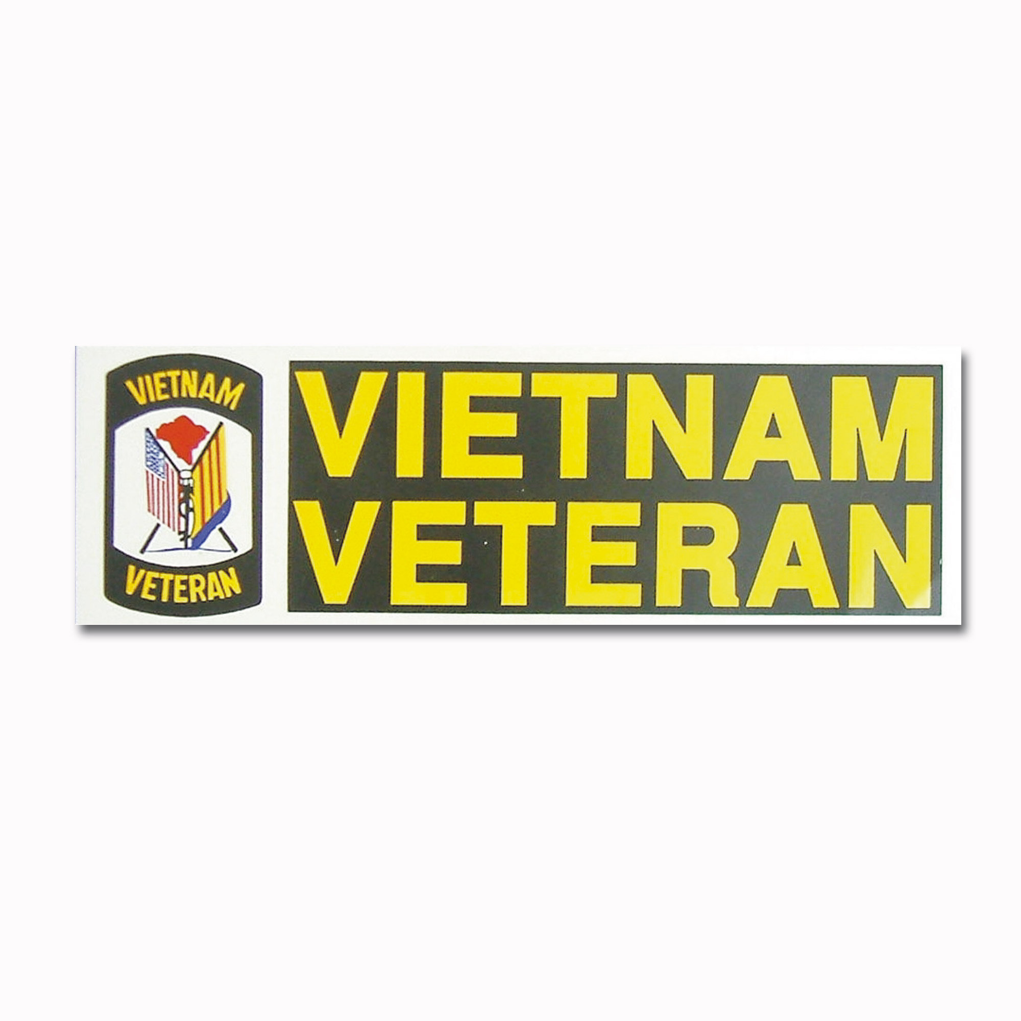 Bumper Sticker Vietnam Veteran