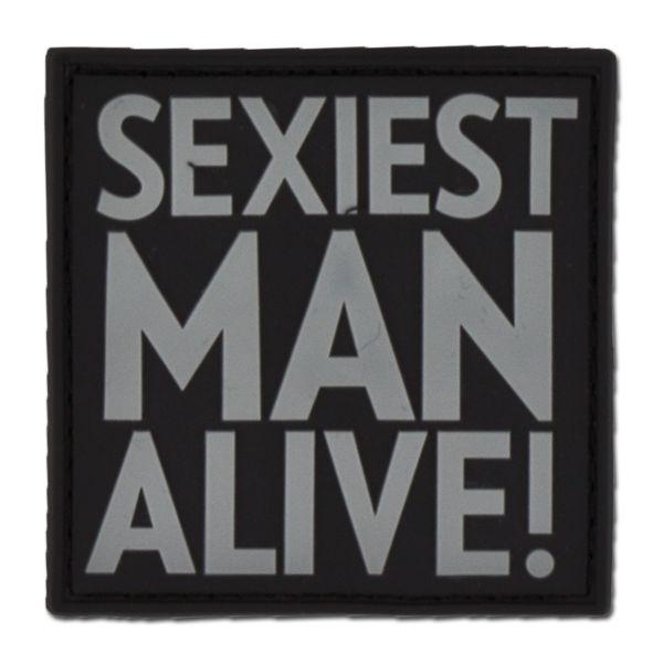 Patch 3D SEXIEST MAN ALIVE swat