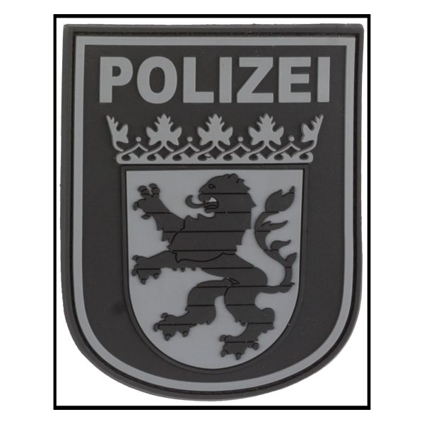 3D-Patch Distintivom braccio Polizei Hessen blackops
