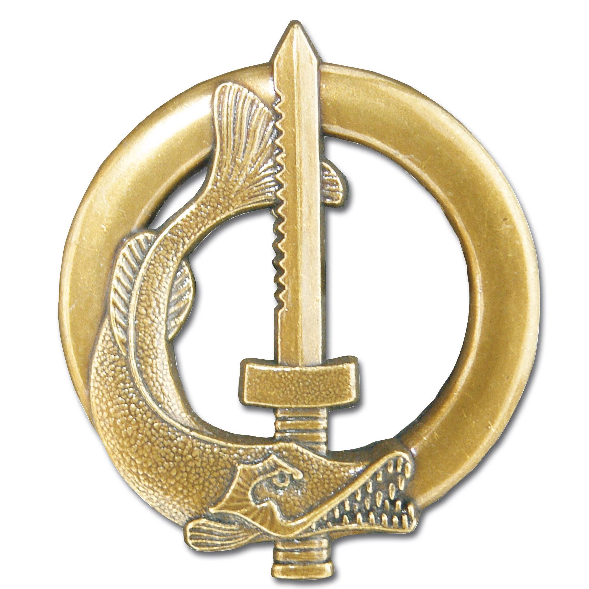 French metall insignia Subaquatique