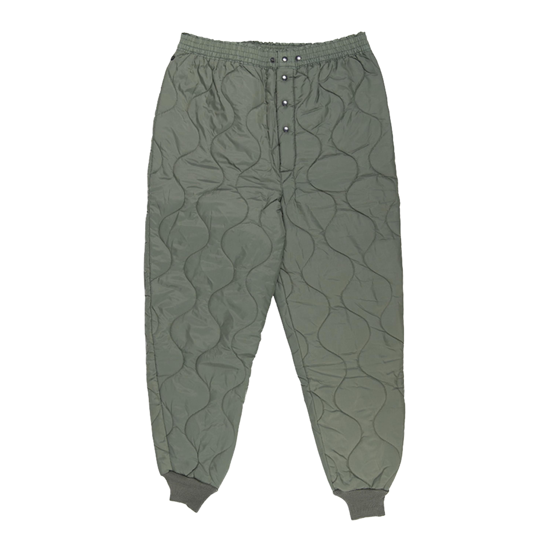 Pantaloni termici CWU verde oliva come nuovi