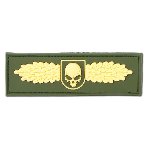 Patch 3D, SOF Skull Badge, Jackets To Go, dorato