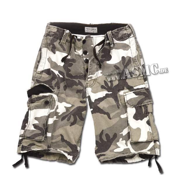 Vintage Shorts urban-camo