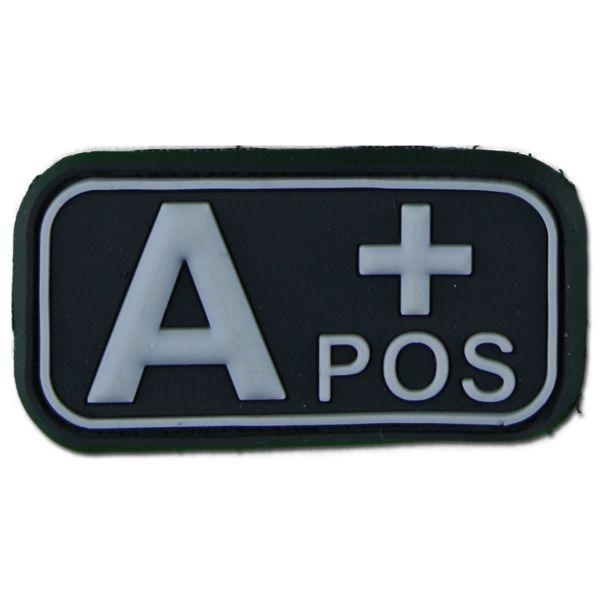 3D Patch gruppo sanguigno A Pos swat