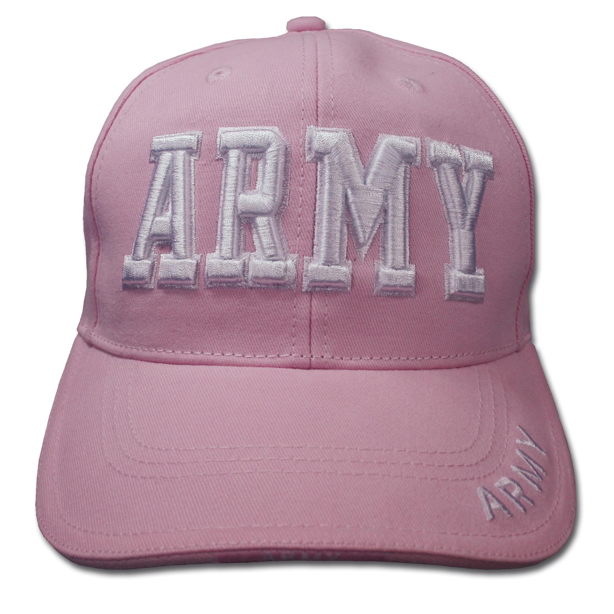 Baseballcap ARMY pink