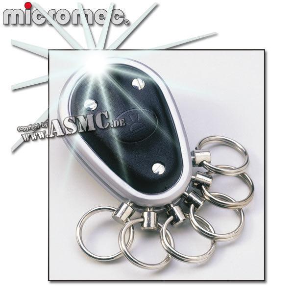Portachiavi Micromec chiave Organizer nero