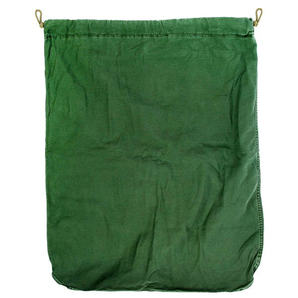 Sacca porta biancheria originale US verde oliva usata