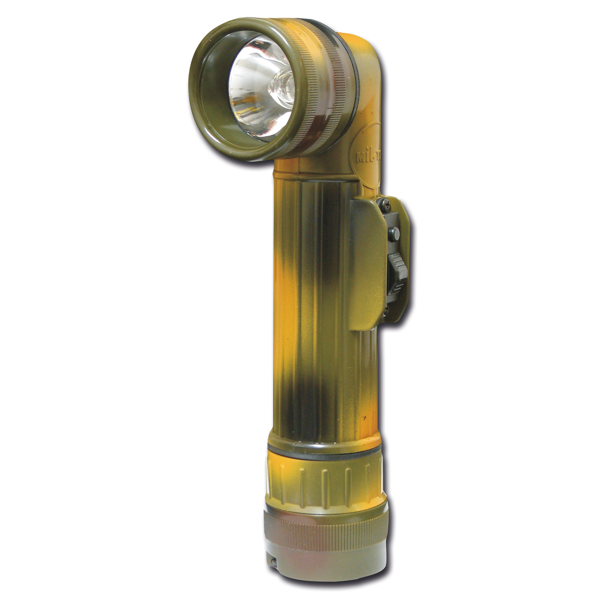 Angle head flashlight large camouflage