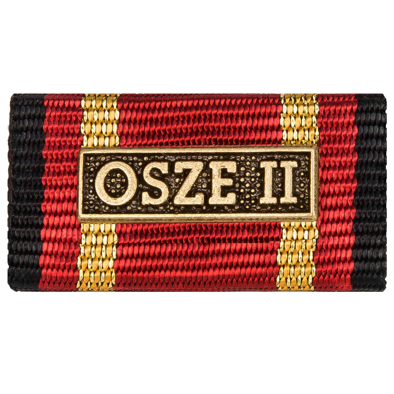 Ordensspange Auslandseinsatz OSZE 2 bronze